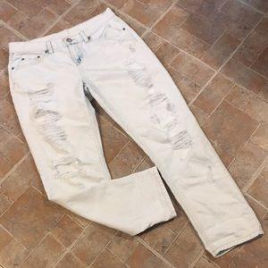 Bethany Mota distressed skinny jeans size women 8